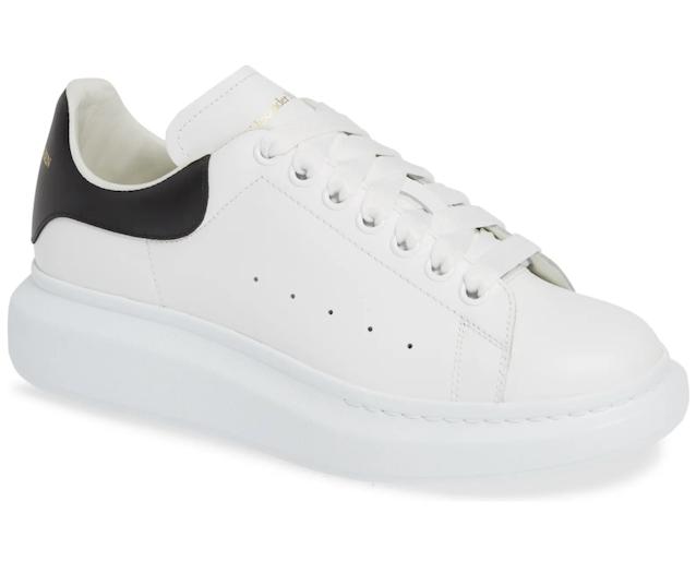 Alexander McQueen Oversized Low Top Sneaker