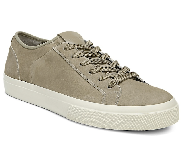 Vince Fulton Suede Low-Top Sneakers