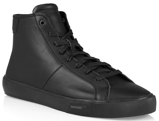 Diesel Mydori High-Top Leather Sneakers