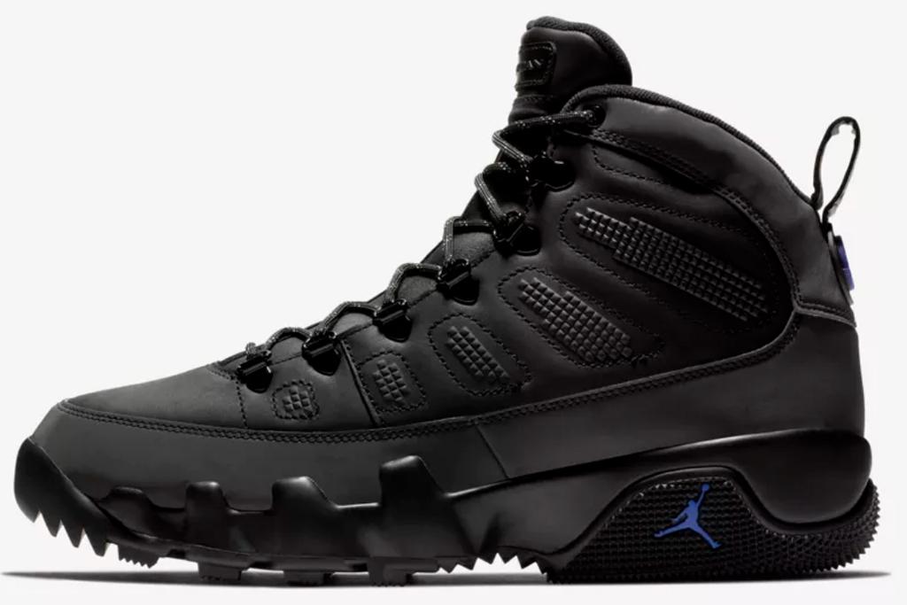 Air Jordan 9 Boot Black Concord