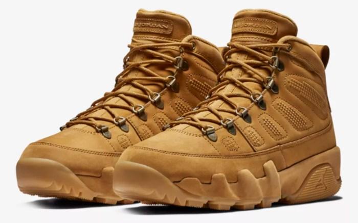 Air Jordan 9 Boot Wheat