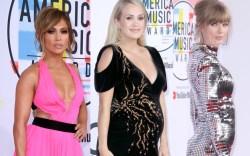 ennifer Lopez, Carrie Underwood, Taylor Swift,