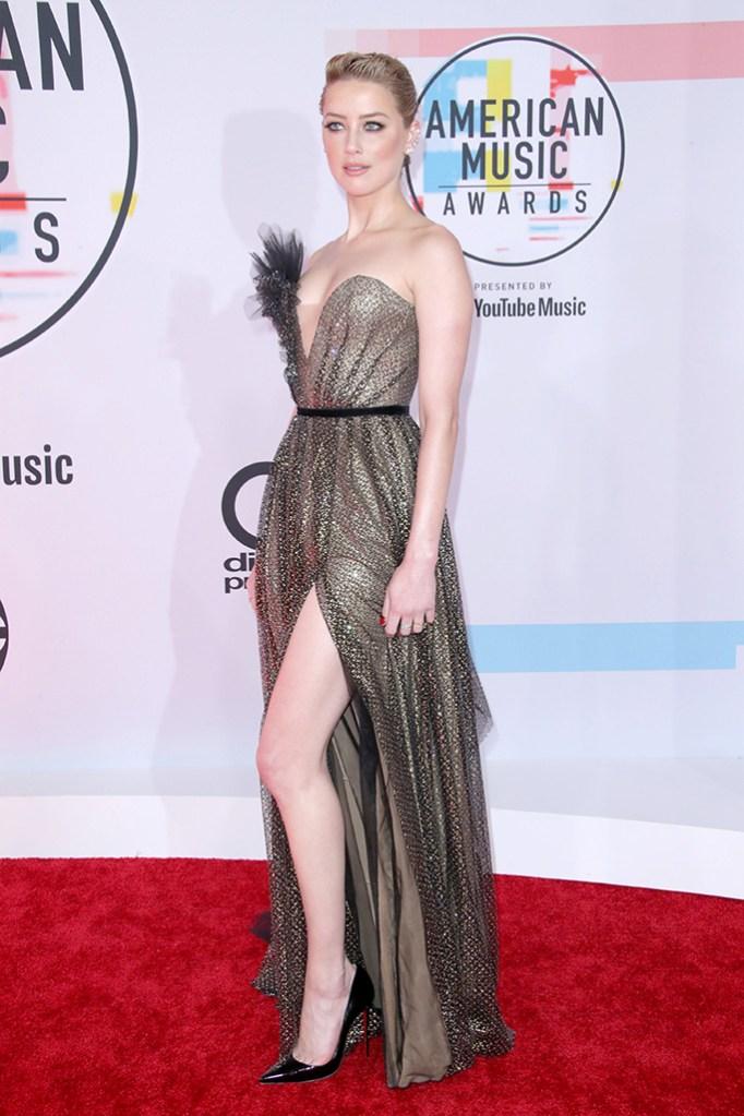 Amber HeardAmerican Music Awards, Arrivals, Los Angeles, USA - 09 Oct 2018