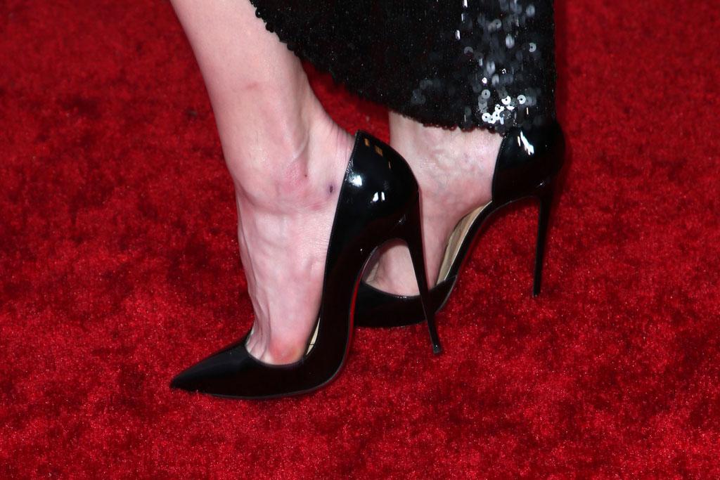 Amber Heard, Christian Louboutin, red carpet
