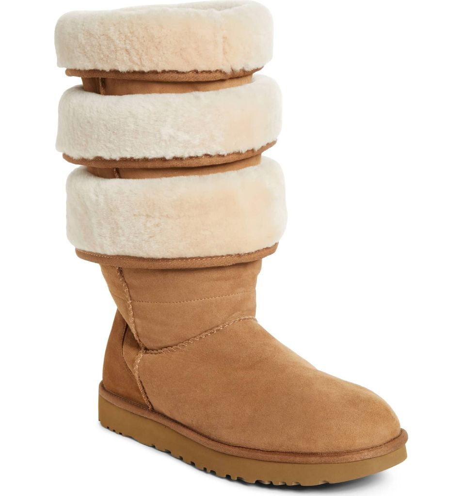 apres ski boots shearling ugg y/project layered boot