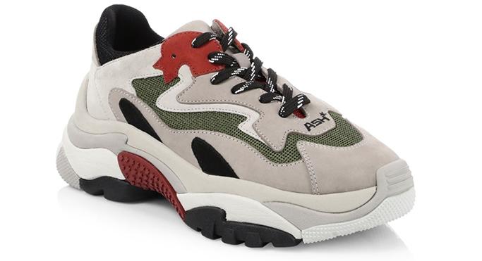 AshAddict Mix Media Sneakers