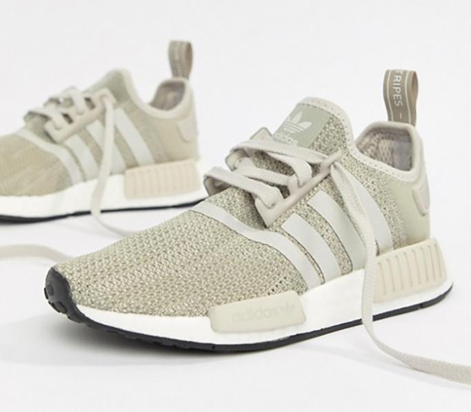adidas Originals NMD R1 Sneakers In Gray