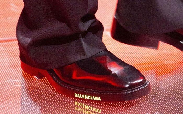 Shoes as seen on Balenciaga's spring 2019 runway.