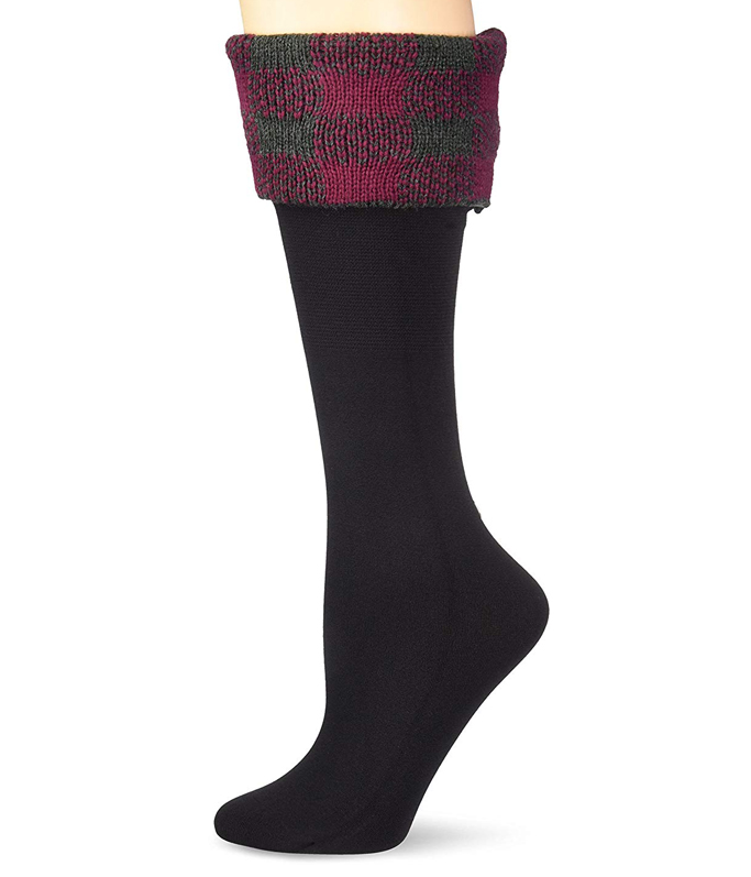 Bearpaw Cable Knit Boot Liner