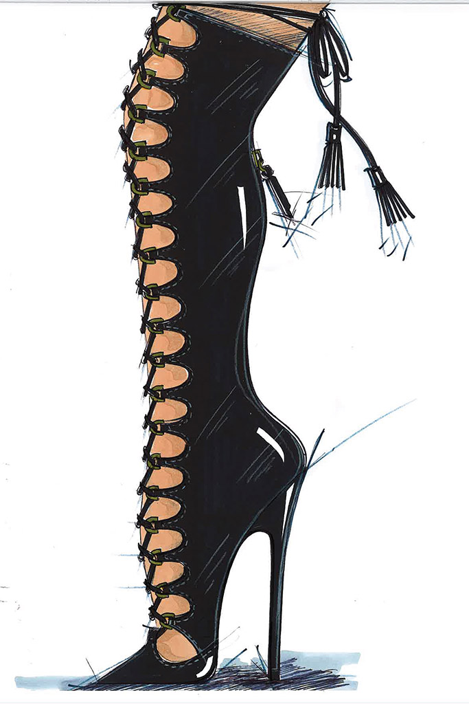 Fashion Show 2018 Shoes by Brian Atwood