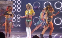 Britney Spears' Best Onstage Shoe Moments