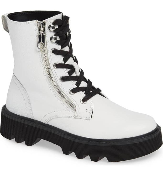 Calvin Klein Jeans Diahne Combat Boot