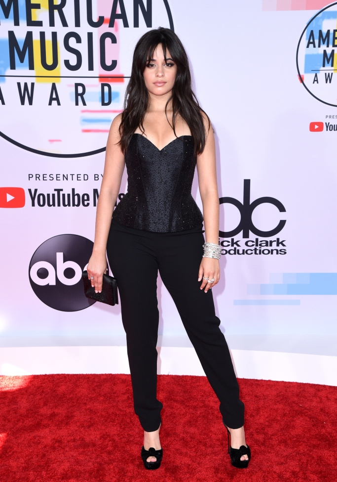 Camila Cabello , red carpet, amas