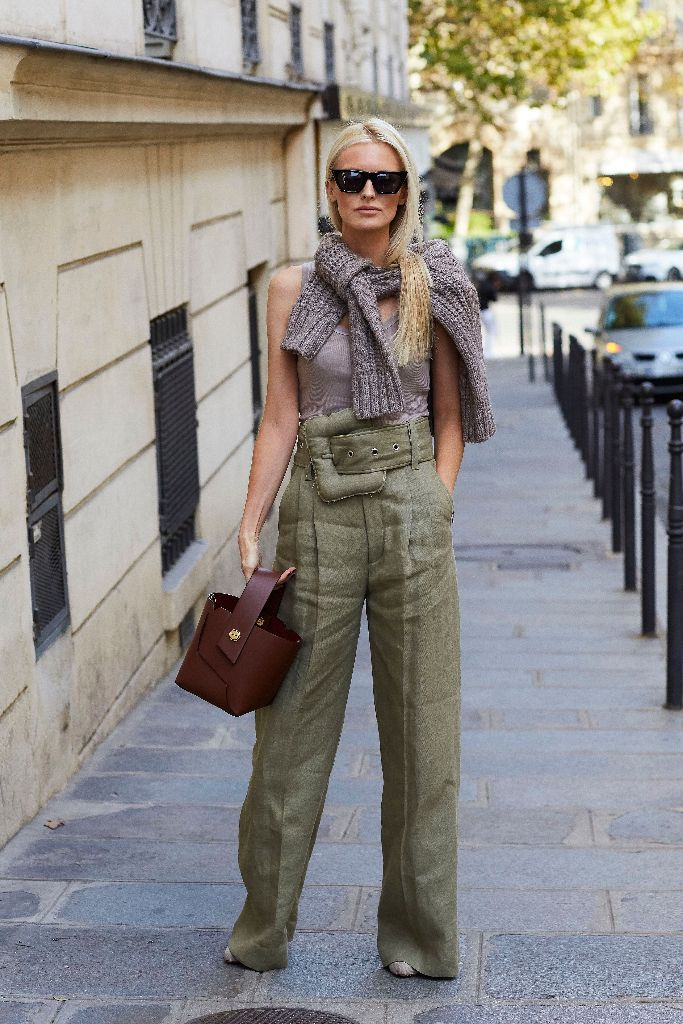 kate davidson hudson celine paris fashion week
