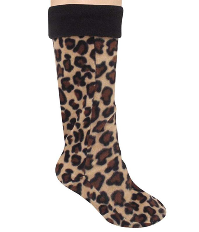 Amazon Leopard Fleece Liner