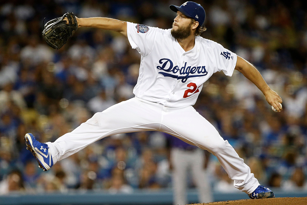 Clayton Kershaw Los Angeles Dodgers Under Armour