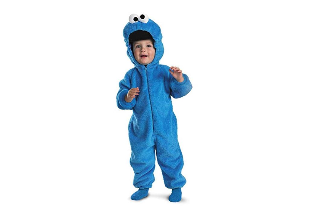 sesame street, cookie monster, costume, halloween