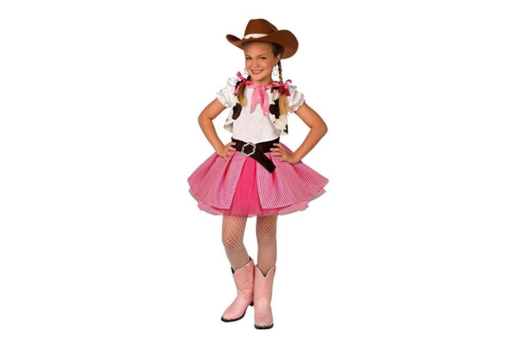 kids cowgirl costume