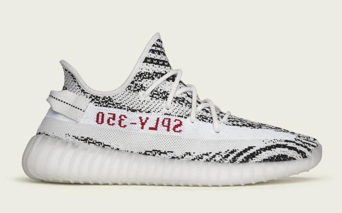 "Adidas Yeezy Boost 350 V2 ""Zebra"" CP9654"