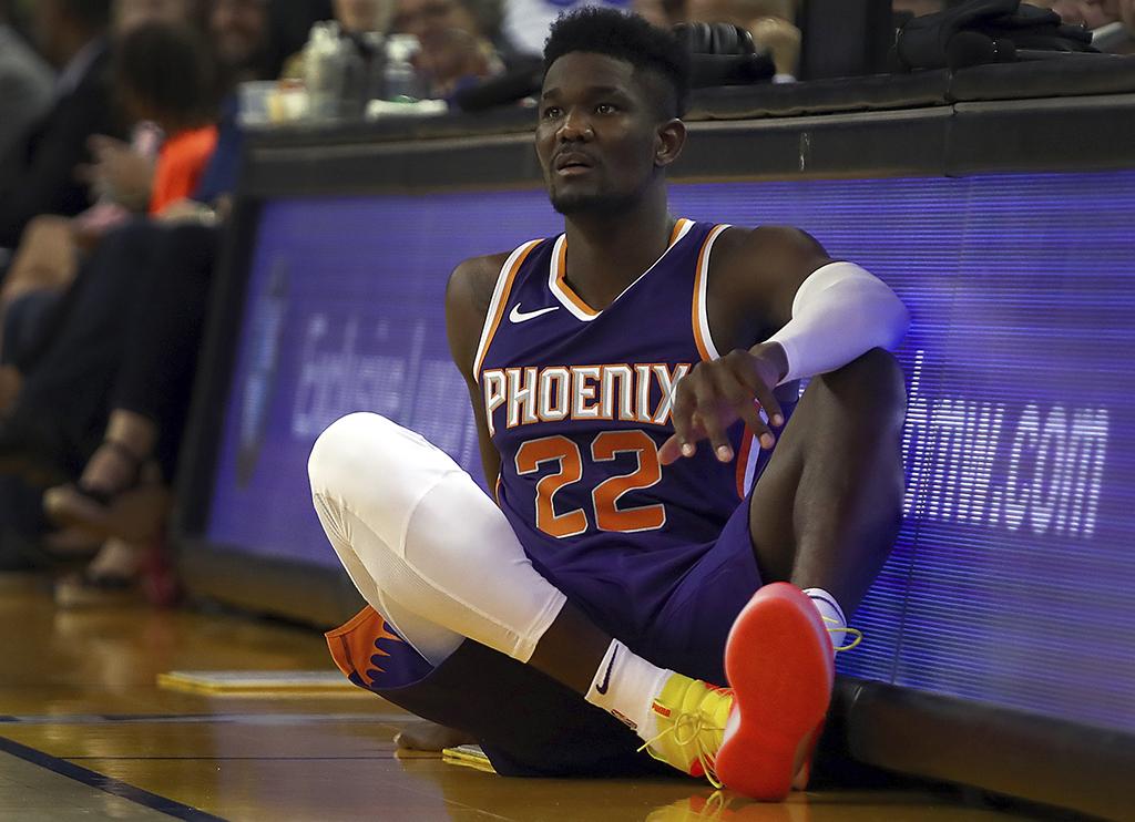 Deandre Ayton Phoenix Suns Puma Clyde Court Disrupt