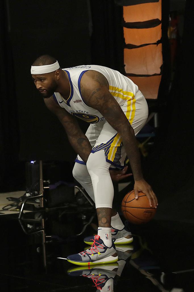 DeMarcus Cousins Golden State Warriors Nike Kobe A.D. Sail Multicolor
