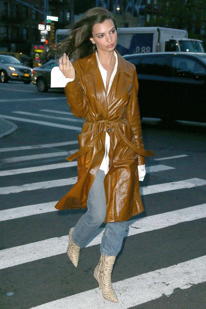 Emily Ratajkowski, new york, style, yeezy , boots