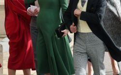 Princess Eugenie's Wedding Guests in Hats & Heels