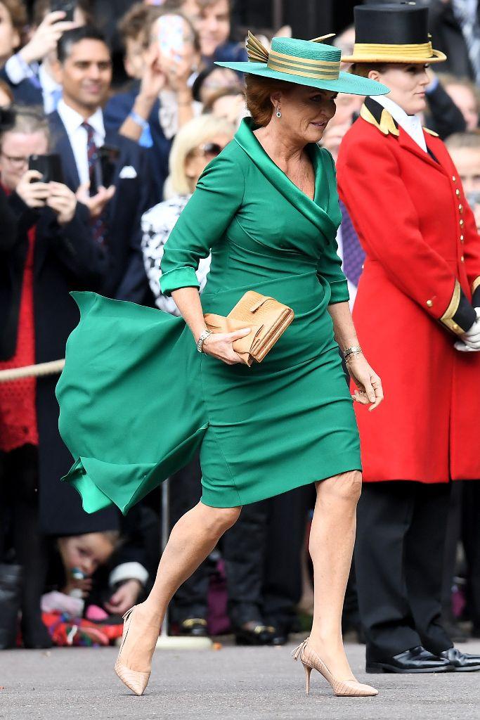 princess eugenie wedding, Sarah Ferguson Duchess of York, emma louise design