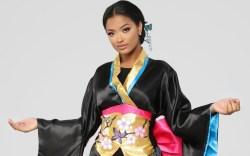 Fashion Nova, Geisha, Halloween, costume