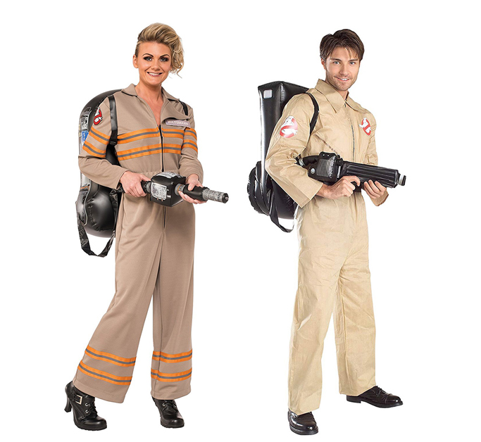 Couples Ghostbusters costumes