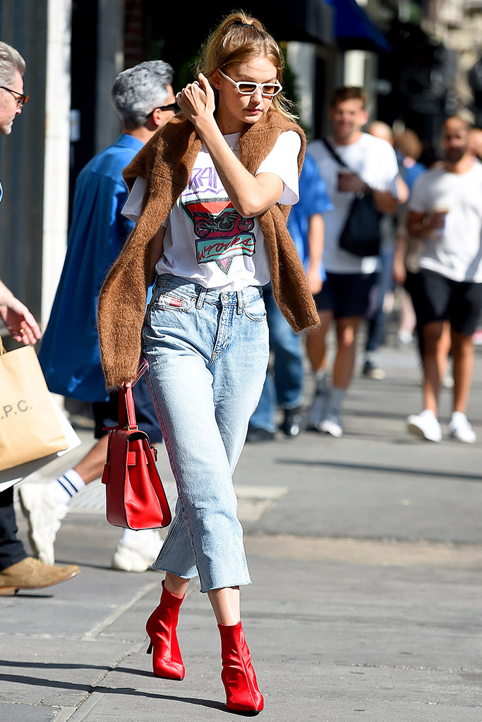Gigi Hadid Senso Shoes