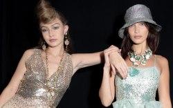 Gigi Hadid, Bella Hadid, Anna Sui,