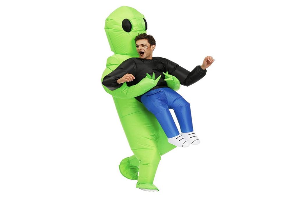 amazon halloween costume, ailen halloween costume, inflatable costume