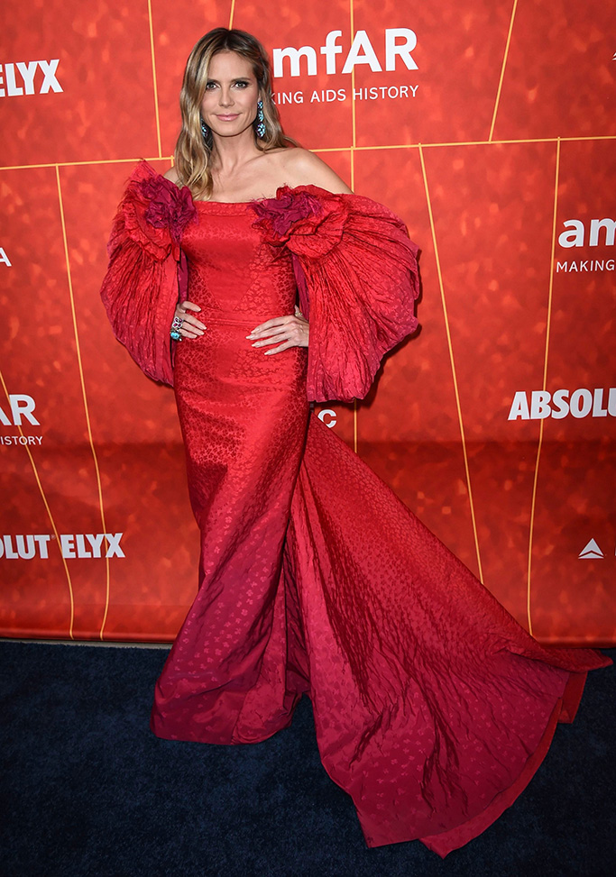 Heidi Klum2018 amfAR Inspiration Gala Los Angeles, Beverly Hills, USA - 18 Oct 2018