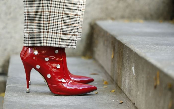 fall 2018 best shoe trends 80's patent leather paul andrew boots