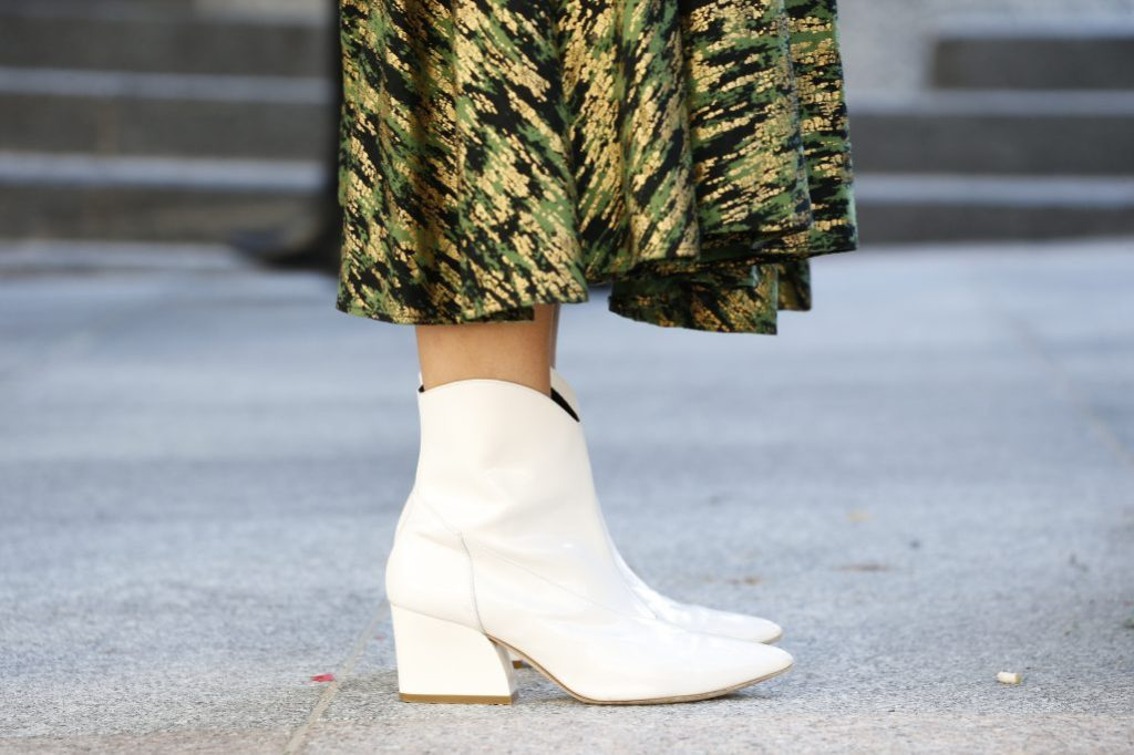 how to wear non-black boots fall 2018 tibi dylan boot