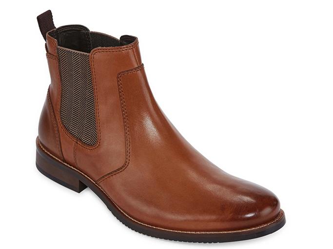 Stafford Mens Bretton Dress Boots
