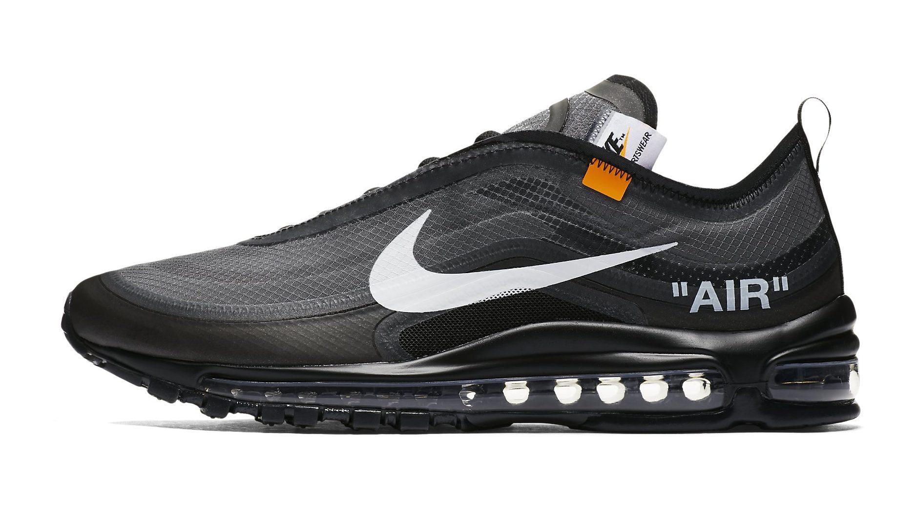 Off-White x Nike Air Max 97 Black Is