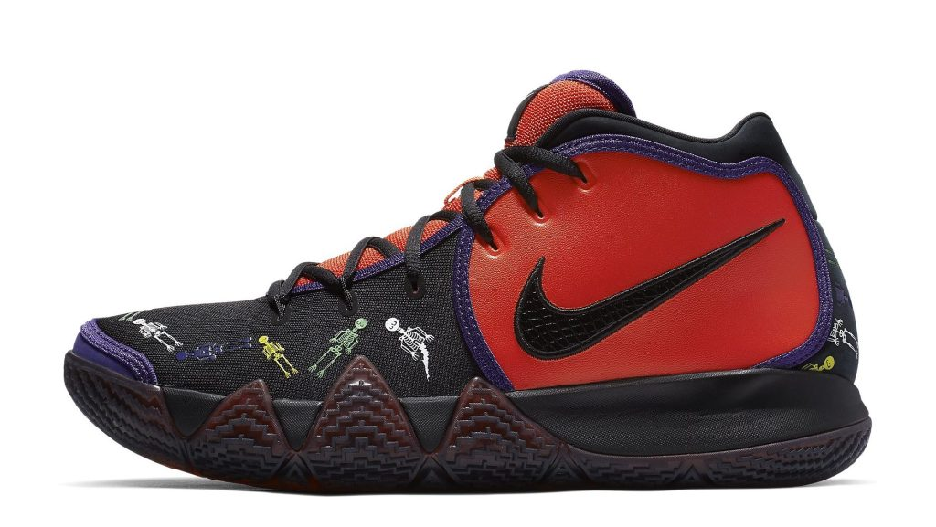 Nike Kyrie 4 'Day of the Dead' CI0278-800 Lateral