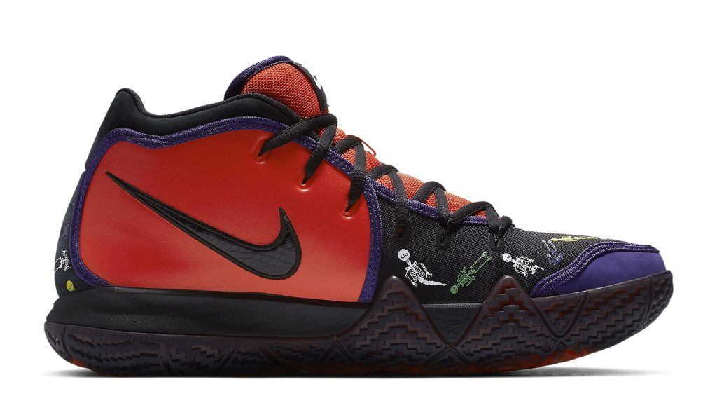Nike Kyrie 4 'Day of the Dead' CI0278-800 Medial