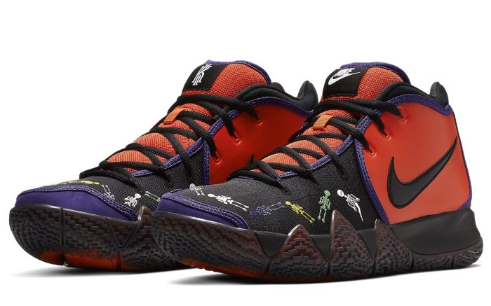 Nike Kyrie 4 'Day of the Dead' CI0278-800 Pair