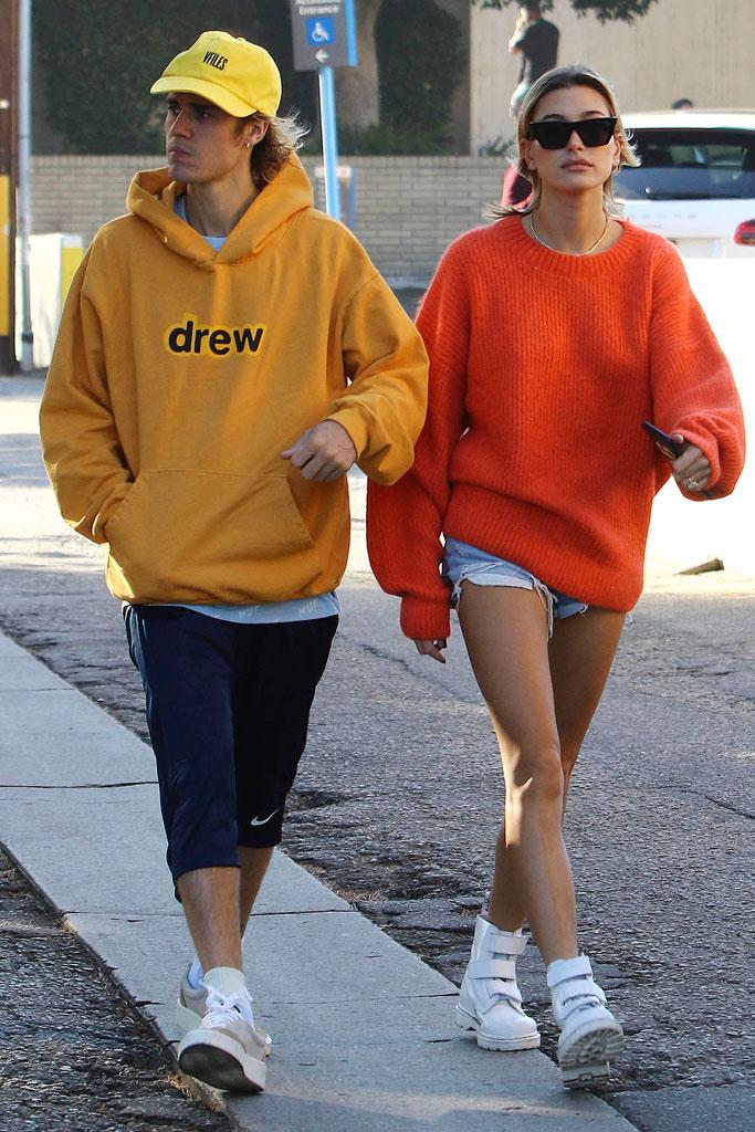Justin Bieber, Hailey Baldwin, los angeles, coffee date