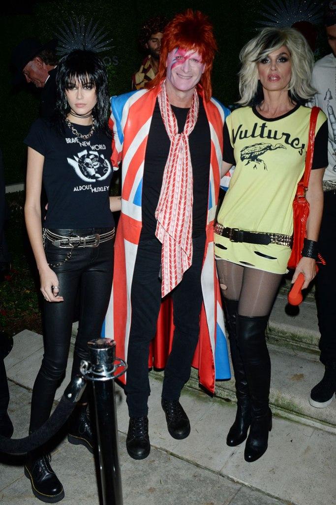 Kaia Gerber, Rande Gerber and Cindy Crawford, halloween, casamigos party,