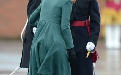 2013: Kate Middleton's Heel Gets Caught in a Drain
