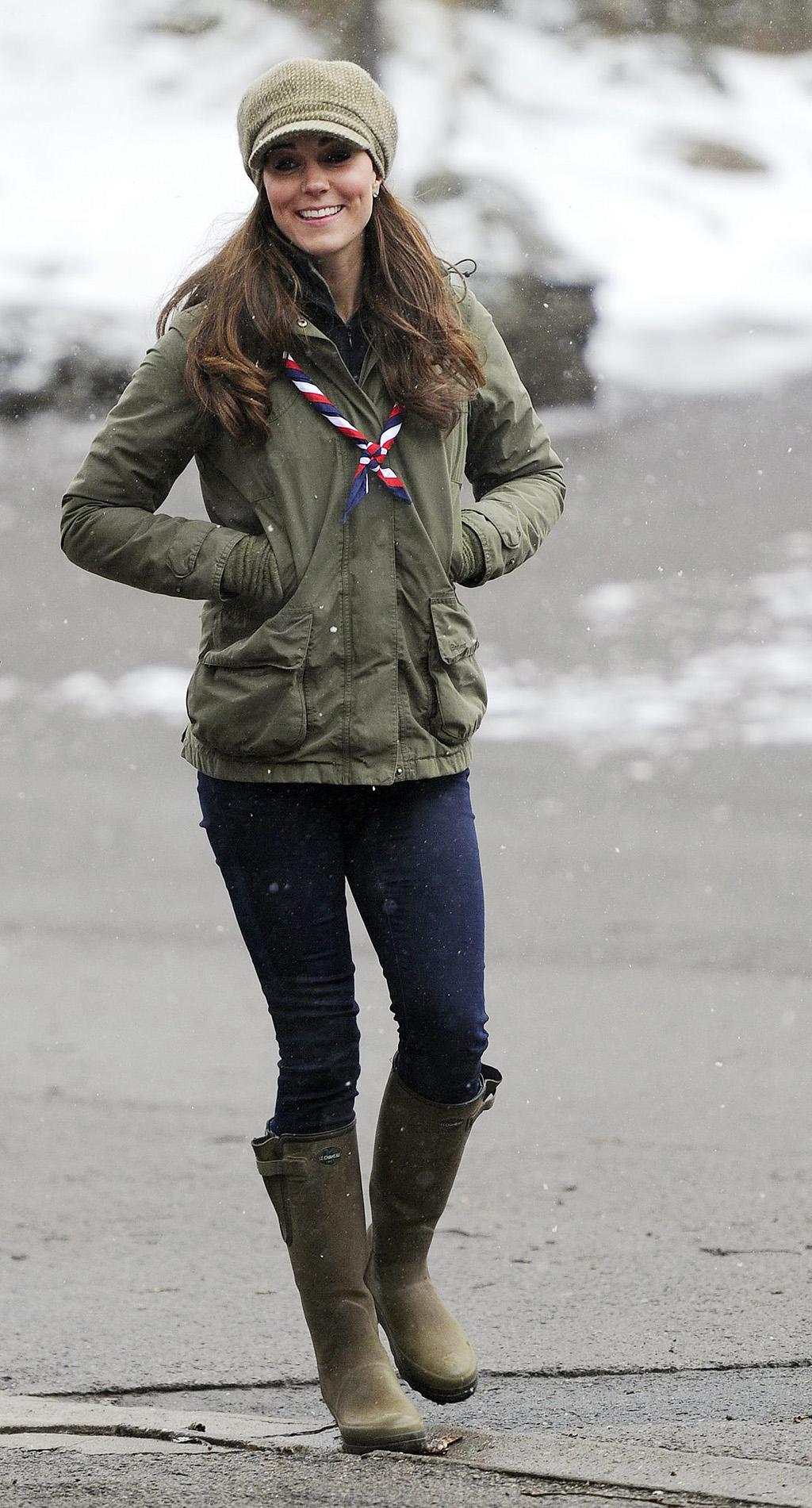 Kate Middleotn Le Chameau Rain Boots
