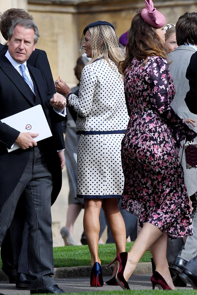 Kate Moss Princess Eugenie Wedding