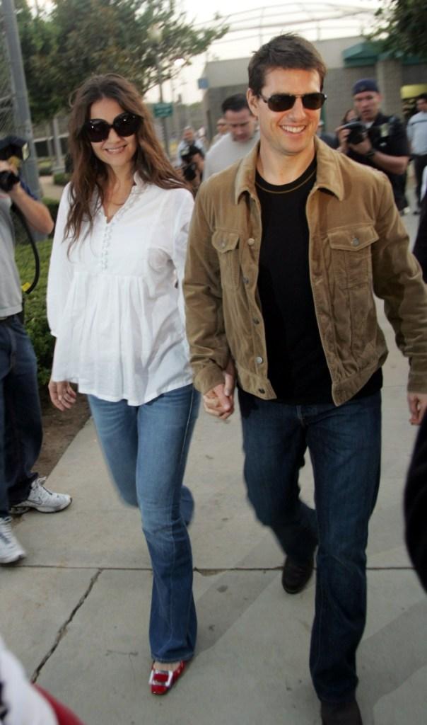 Katie Holmes, 2005, tom cruise, celebrity style