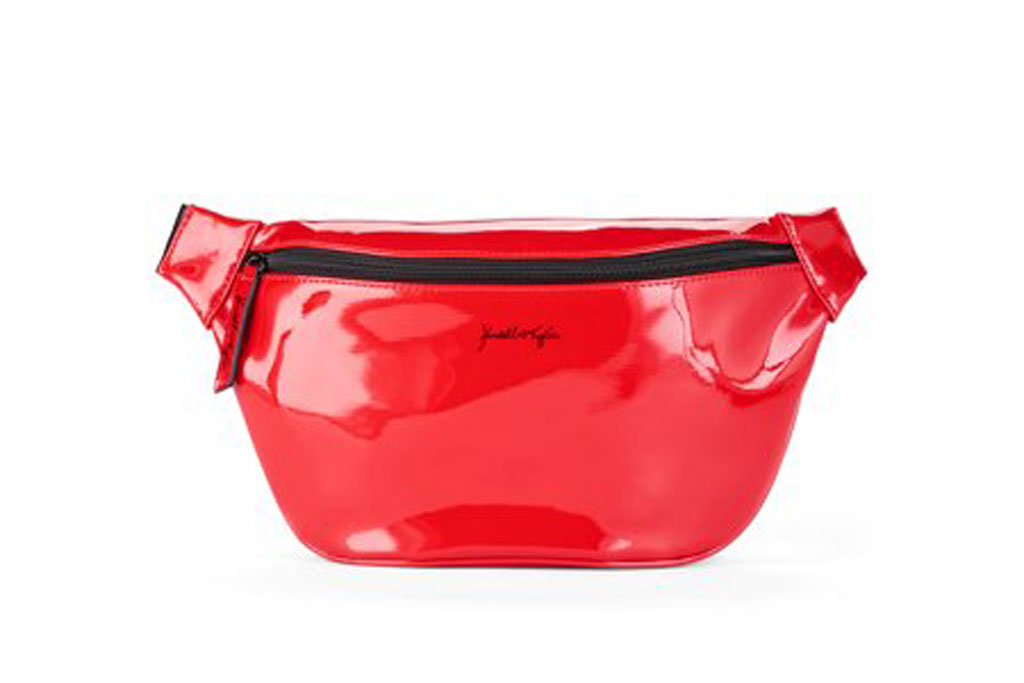 Kendall + Kylie for Walmart Red Faux Leather Large Fanny Pack