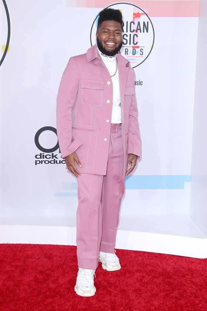Khalid, American Music Awards, Arrivals, Los Angeles, USA - 09 Oct 2018
