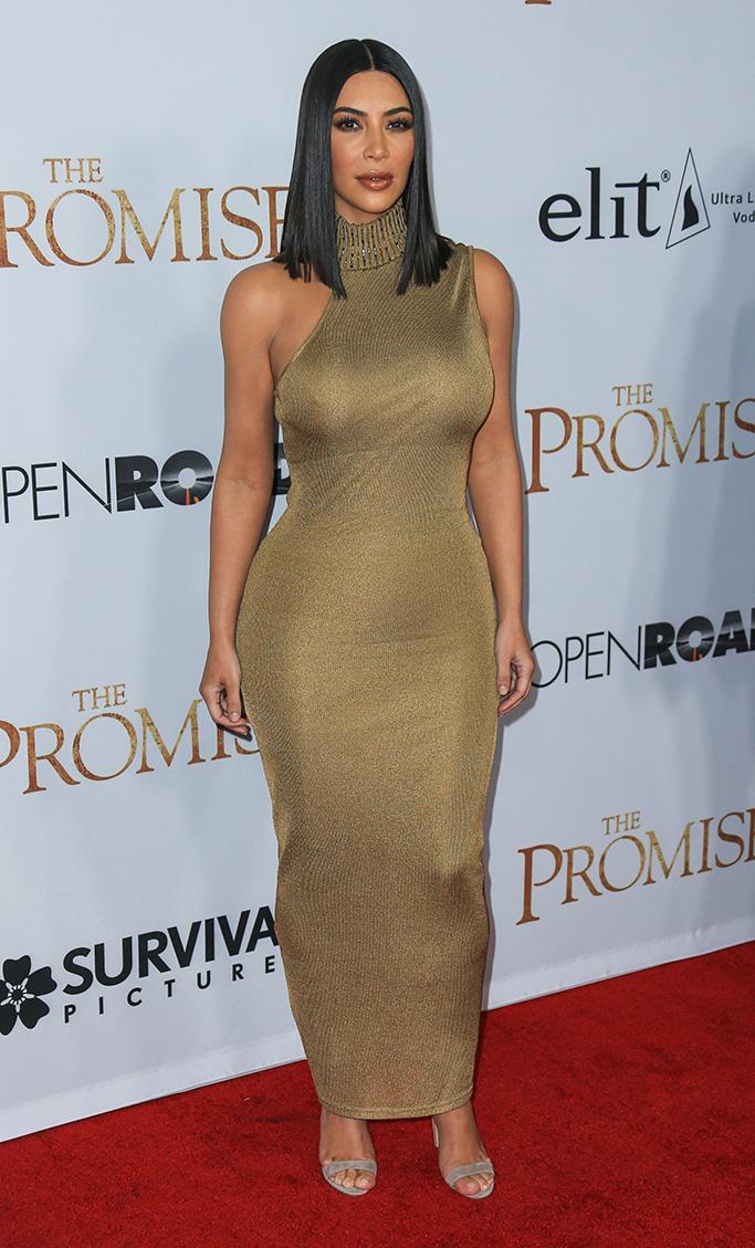 "Kim Kardashian at the Premiere Of ""The Promise"